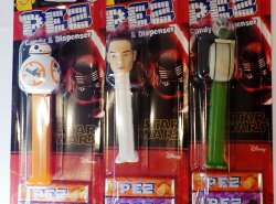 '.PEZ Star Wars Set of 6.'