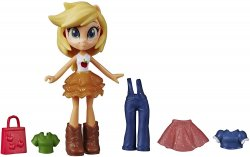 My Little Pony Equestria Girls Fashion Squad Applejack mini Potion Doll