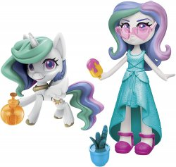 My Little Pony Equestria Girls Princess Celestia Potion Princess Set