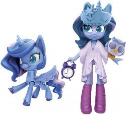 My Little Pony Equestria Girls Princess Luna Potion Princess Set