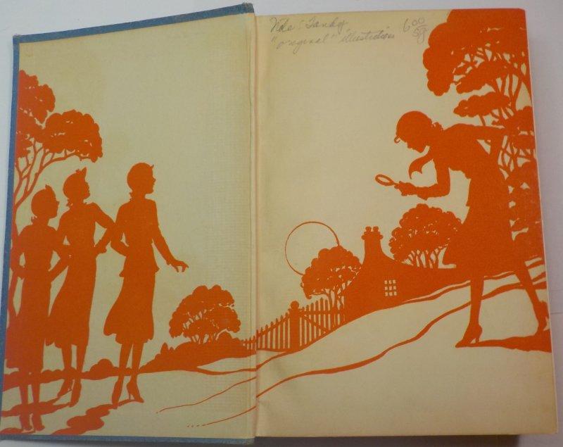 Nancy Drew #14 1937 OT signed Mildred Wirt Benson glossy illustration