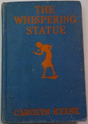 Nancy Drew #14 The Whispering Statue 1937 OT signed Mildred Wirt Benson glossy
