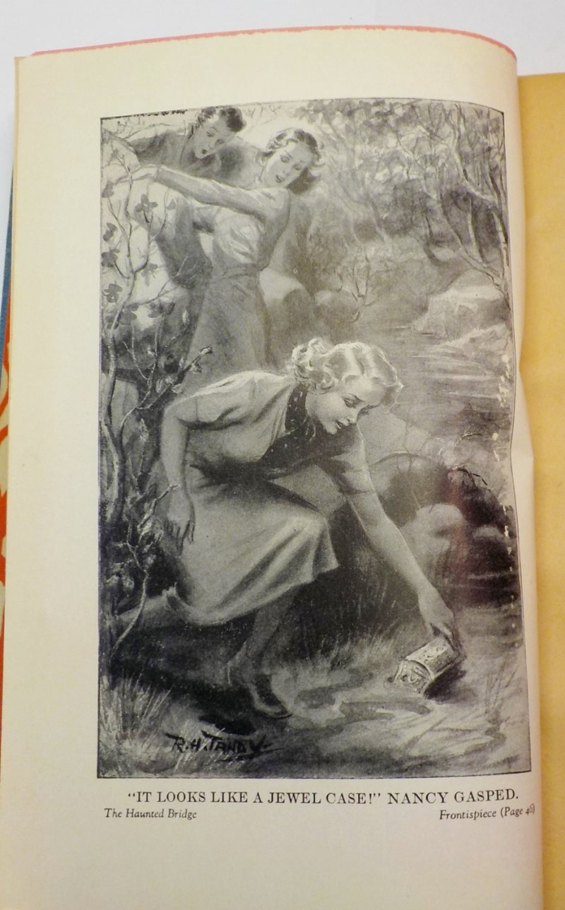 Nancy Drew #15 1937 OT signed Mildred Wirt Benson glossy illustration