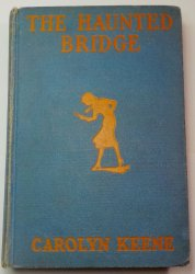 Nancy Drew #15 The Haunted Bridge, 1937 OT signed Mildred Wirt Benson glossy
