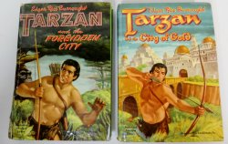 Tarzan and The Forbidden City & The City of Gold Whitman 1950s prints