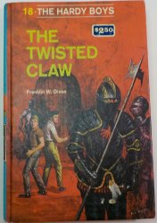 The Hardy Boys #18 The Twisted Claw RT PC Franklin W. Dixon 1977 print edition