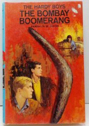 The Hardy Boys #49 The Bombay Boomerang By Franklin W. Dixon blue PC 1970