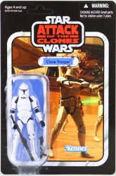 Star Wars The Vintage Series Clone Trooper 3.75 in action figure