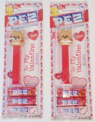 PEZ Valentine's Love Bear Dispensers 2020 Valentines Collection Lot of 2