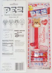 '.PEZ Valentine's Love Bear.'