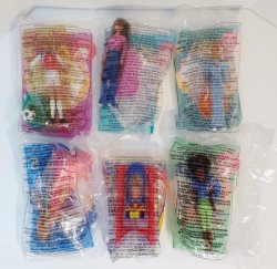 '.Barbie 1999 Lot of 6.'
