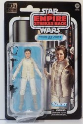 Star Wars 40th Anniversary Princess Leia Organa (Hoth) Black Series