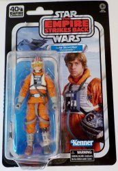 Star Wars 40th Anniversary Luke Skywalker (Snowspeeder) 6 inch Black Series
