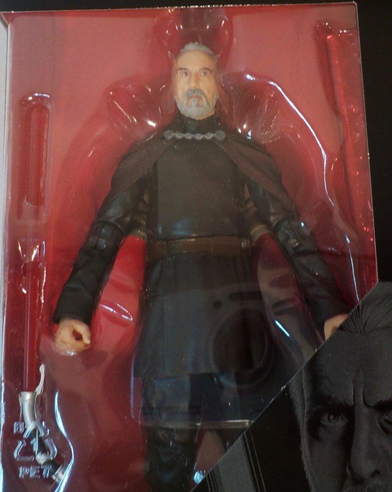 Star Wars The Black Series Comte Dooku 6-inch Action Figure E8072 630509902910