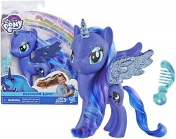 My Little Pony Princess Luna 6 inch figure sparkles