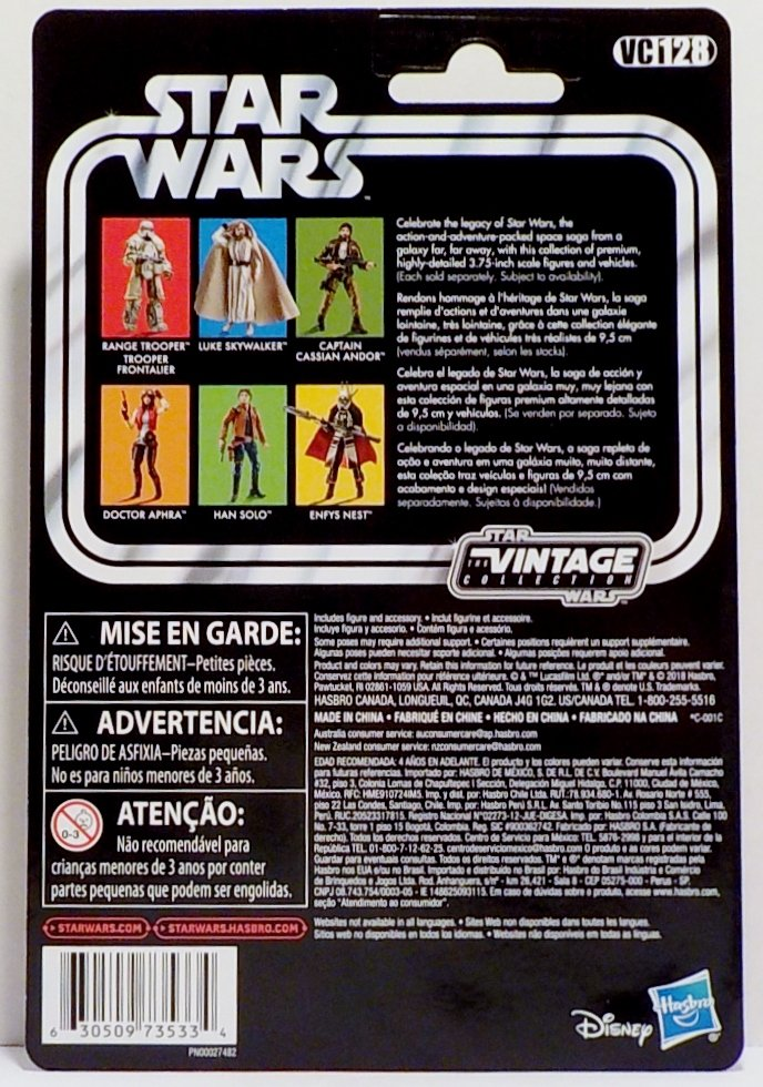 Star Wars:Solo The Vintage Collection