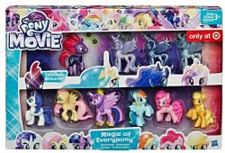 My Little Pony The Movie Magic of Everypony Roundup Ensemble 10 pony set