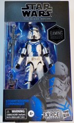 Star Wars Force Unleashed Stormtrooper Commander Gaming Greats exclusive