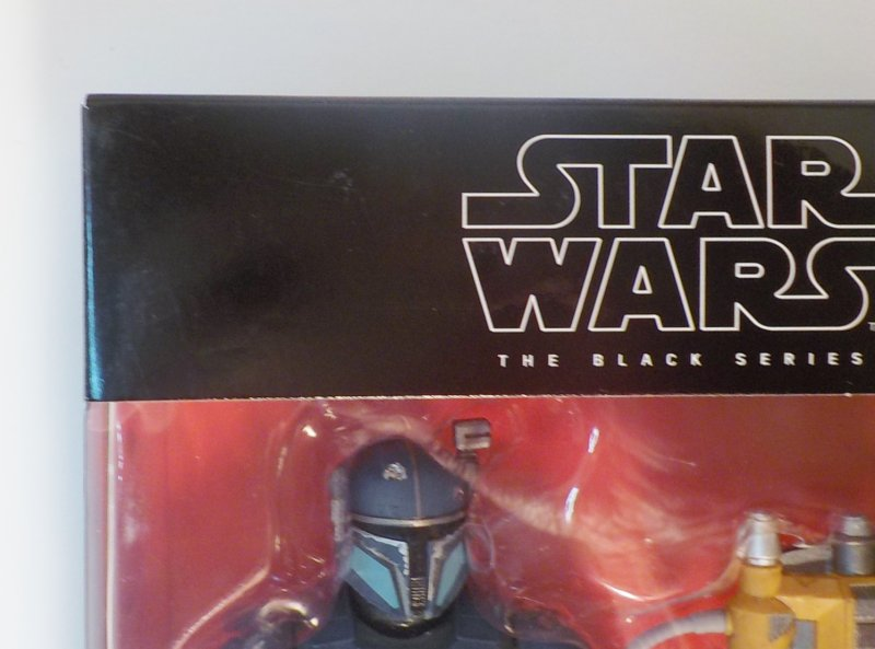 tSar Wars The Mandalorian Black Series Deluxe figure