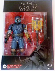 Star Wars Heavy Infantry Mandalorian D2 Black series 6 inch figure