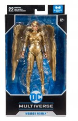 DC Multiverse Wonder Woman Gold Armor: Wonder Woman 1984 Action Figure