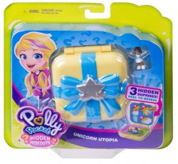 Polly Pocket Hidden Hideouts Unicorn Utopia Compact playset