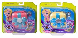 Polly Pocket Hidden Hideouts Mermaid Cove and Unicorn Utopia Compact Bundle