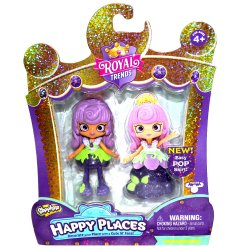 Shopkins Happy Places Royal Trends Princess Beryl Doll and Skirt