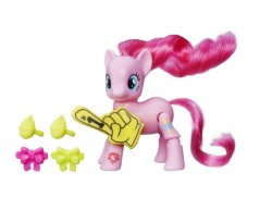 My Little Pony Explore Equestria Pinkie Pie Cheering Friendship is Magic