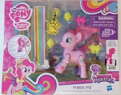 '.Cheering Pinkie Pie.'