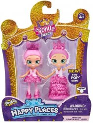 Shopkins Happy Places Royal Trends Princess Gracie Feathers Lil' Shoppie Figure