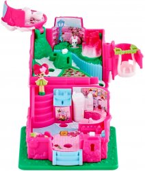 Shopkins Lil' Secrets Rosie Bloom Cafe Teeny Shoppie and Key playset