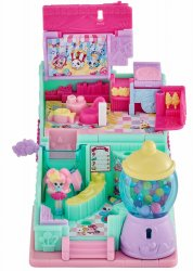 Shopkins Lil' Secrets Sweet Retreat Candy Shop Teeny Shoppie and Key playset
