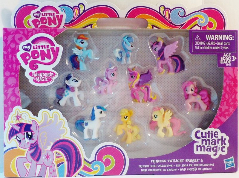 My Little Pony Cutie Mark Magic Mini Collection
