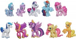 My Little Pony Cutie Mark Princess Twilight Sparkle and Friends Mini Collection