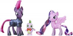 My Little Pony Festival Foes Twilight Sparkle, Spike, Tempest Shadow playset