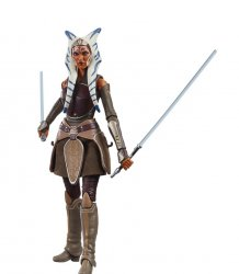 Star Wars Rebels Ahsoka Tano #07 The Black Series Galaxy 6in figure