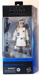 Star Wars Empire Strikes Back Black Series Rebel Trooper (Hoth) figure