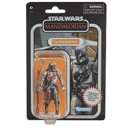 Star Wars The Vintage Collection Carbonized The Mandalorian 3.75in figure