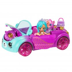 Shopkins Mermaid Coral Cruiser Exclusive Coralee Mermaid Lil Shoppie Petkins