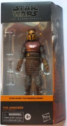 Star Wars The Mandalorian The Armorer #04 Black Series Galaxy 6in figure
