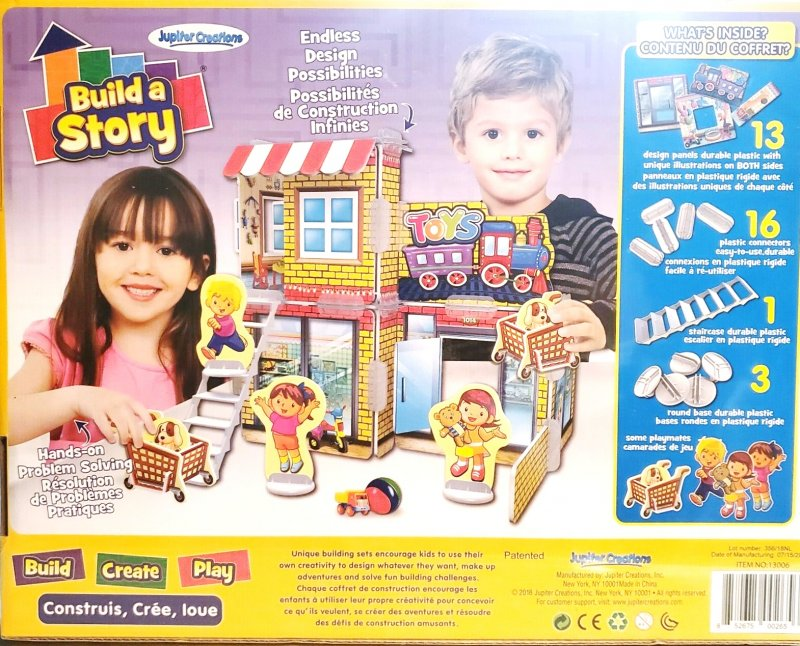 Build a Story Educational building toys