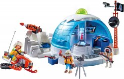 Playmobil #9055 Arctic Expedition Headquarters 85 pieces