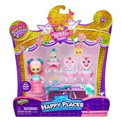 Shopkins Royal Trends Sweet Celebration with Caketrina Shoppie Doll