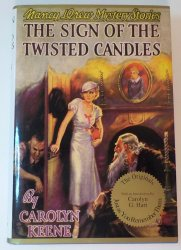 Nancy Drew Mysteries The Sign of the Twisted Candles #9 Applewood Facsimile OT