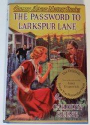 Nancy Drew Mysteries The Password to Larkspur Lane #10 Applewood Facsimile Ed OT