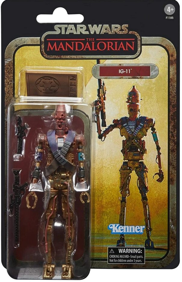 Star Wars The Black Series on Kenner Style boardback