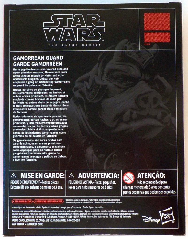 Star Wars: Return of the Jedi Black Series Exclusive 6 in figure