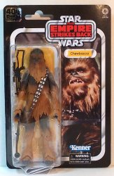 Star Wars 40th Anniversary Chewbacca Empire Strikes Back The Black Series