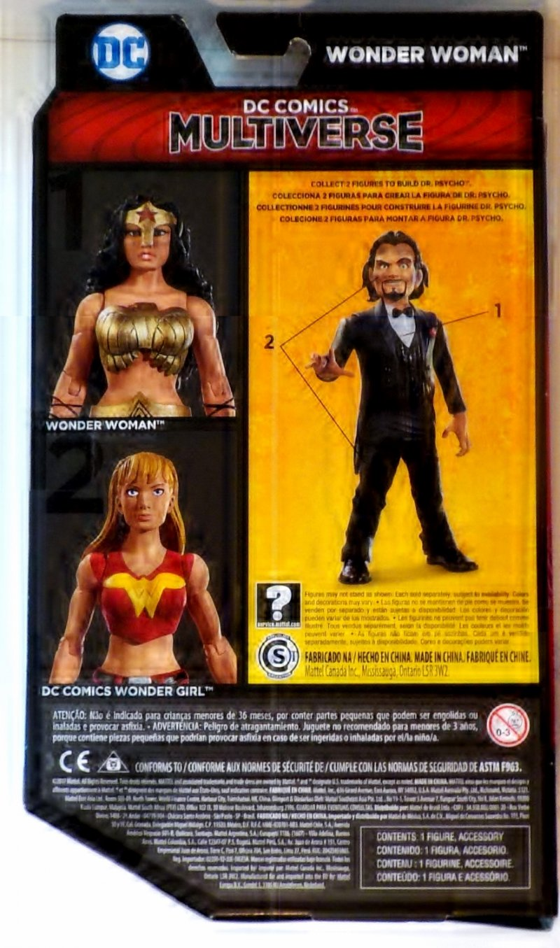 DC The Dark Knight Returns Multiverse Dr. Psycho Series Mattel